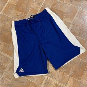 Adidas athletic shorts size kids boys large